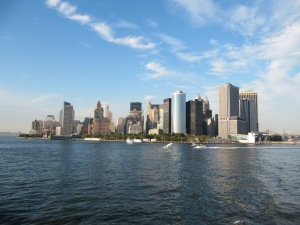 Manhattan skyline in the view ©RohithRoy
